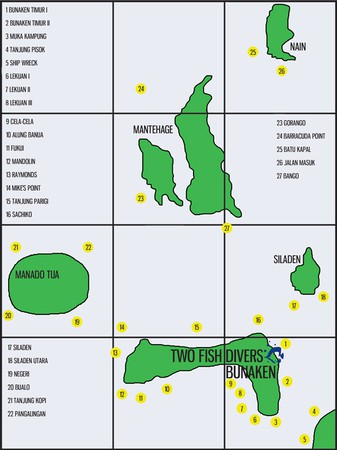 dive sites bunaken